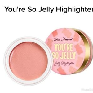 Pink Rose Too Faced Jelly Highlighter